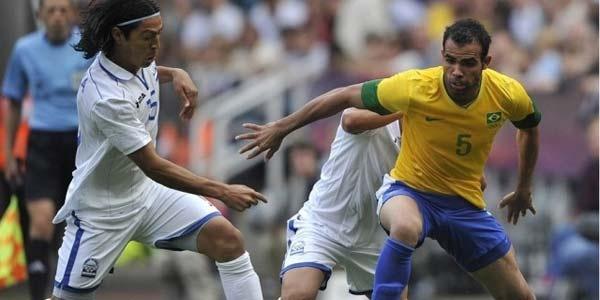 Cuplikan Gol Brasil vs Honduras - Cuplikan Gol Brasil U23 vs Honduras U23 Olimpiade London 2012
