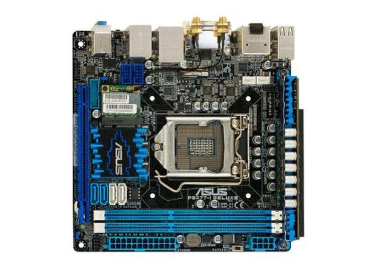 ASUS P8Z77-I Deluxe LGA 1155 Intel Z77 HDMI SATA 6Gb/s USB 3.0 Mini ITX Intel Motherboard - Brought to you by Avarsha.com