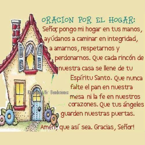 M s de 25 ideas fant sticas sobre oracion por mi familia - Nuestra casa es tu casa ...