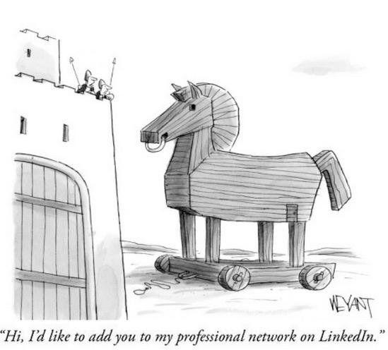 """Hi, I'd like to add you to my professional network on LinkedIn"""