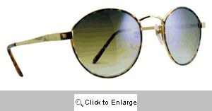 Ring-O Small Metal Shades Sunglasses - 174 Gold
