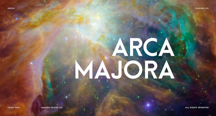 Arca Majora — Free Typeface on Behance  Heavy weight sans serif geometric