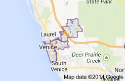 Venice Florida Zip Code 34293, 34284, 34285, 34292.South and North Florida Zip Codes of Venice with demographics, Population and Area Codes.