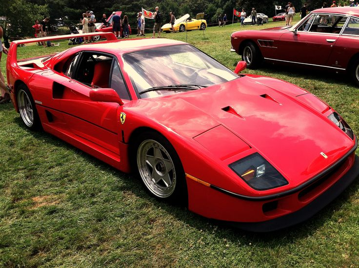 ferrari f40 at the pittsburgh vintage grand prix whips pinterest ferrari ferrari f40 and. Black Bedroom Furniture Sets. Home Design Ideas