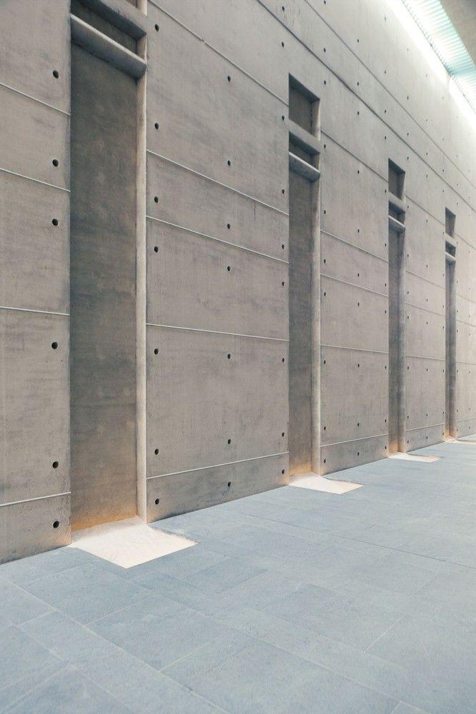 Gallery Of Crematorium Baumschulenweg Shultes Frank Architeckten 6 Architecture Details Architecture Concrete Architecture