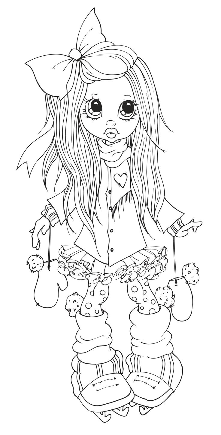 22 best coloring pages big eye girls u0026 boys images on pinterest