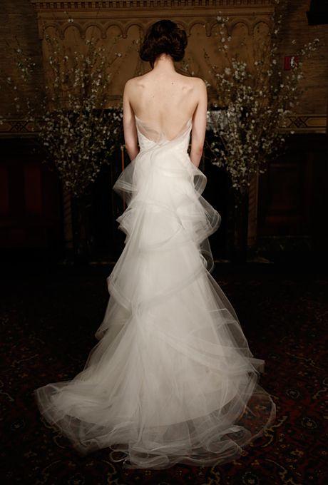 Brides.com: . Wedding dress by Austin Scarlett  See more wedding dresses from Austin Scarlett's Spring 2015 collection.