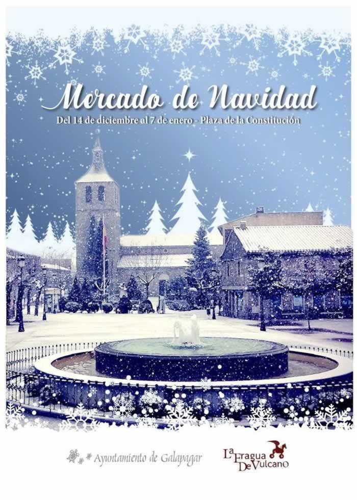 Mercado De Navidad En Galapagar Madrid Del 14 De Diciembre Del 2018 Al 07 De Enero Del 2019 De Mercados Mediev Mercado De Navidad Mercados Navideños Mercado