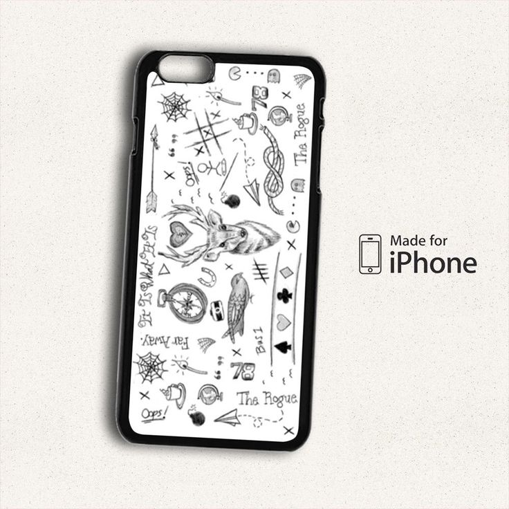 NEW ONE DIRECTION LOUIS TOMLINSON TATTOOS For iPhone 6S Plus Case