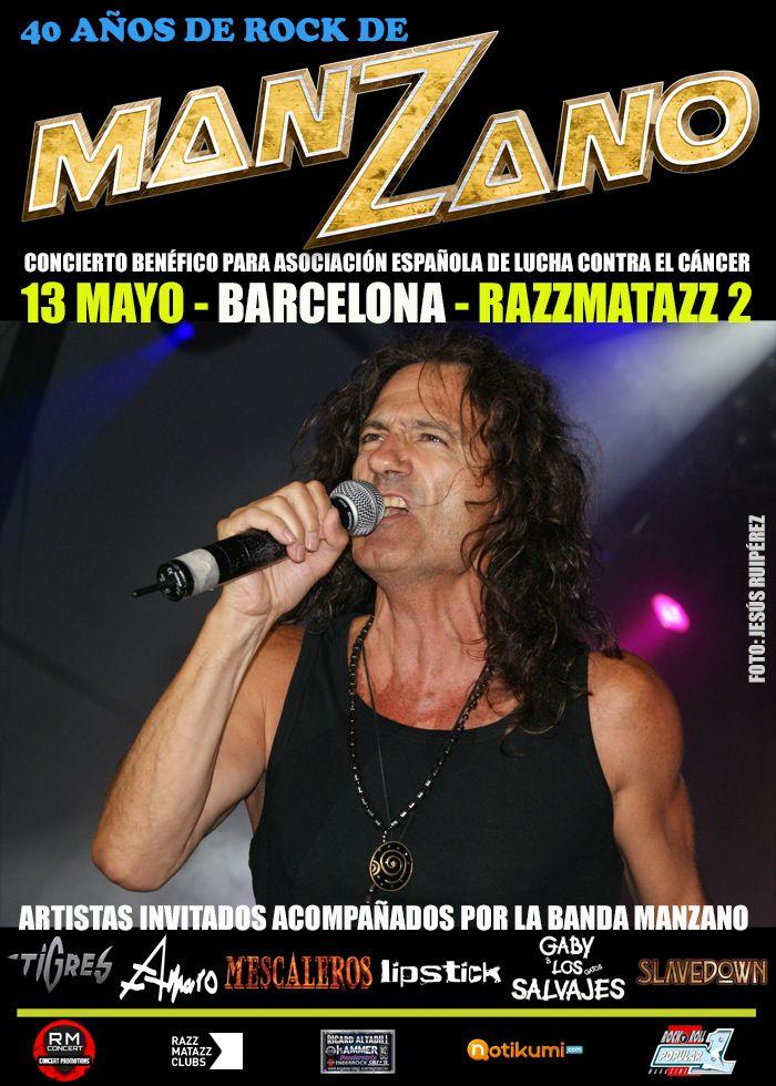Concierto Benefico Homenaje A Manzano En Barcelona Con Imagenes Concierto Homenaje Barcelona