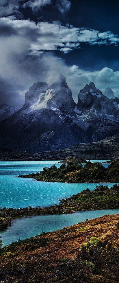 Torres del Paine National Park, Patagonia, Magallane...