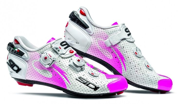 New Sidi Wire Carbon Woman Cycling Shoes, EU38-39.5, Air White Pink Fluo - http://sports.goshoppins.com/cycling-equipment/new-sidi-wire-carbon-woman-cycling-shoes-eu38-39-5-air-white-pink-fluo/