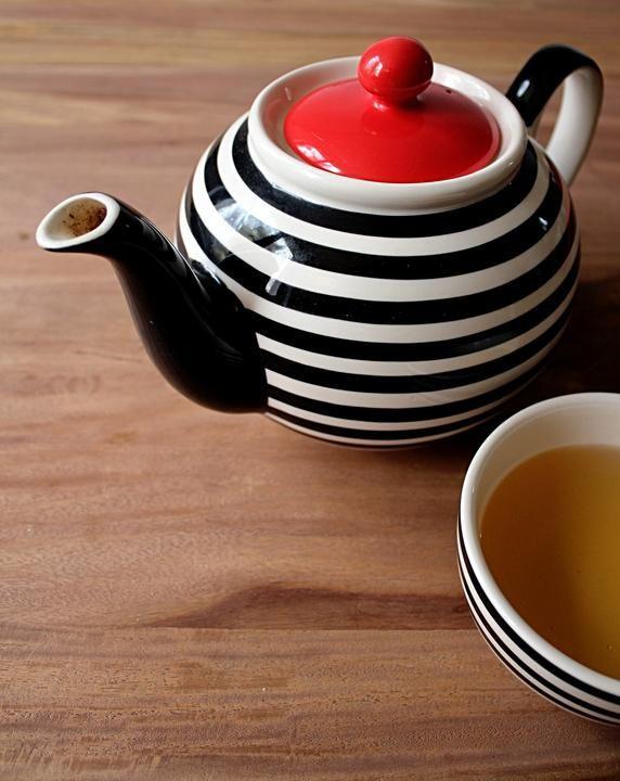 #tea #stripes #TEAPOT