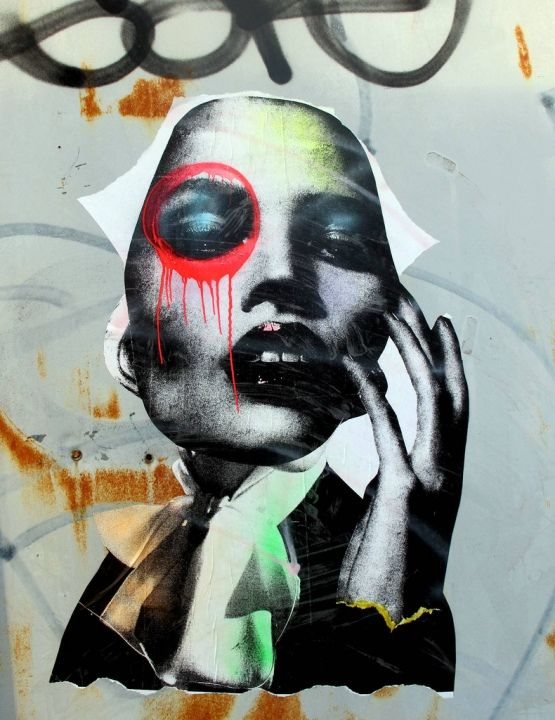 NYC's Beguiling Portraits by DAIN