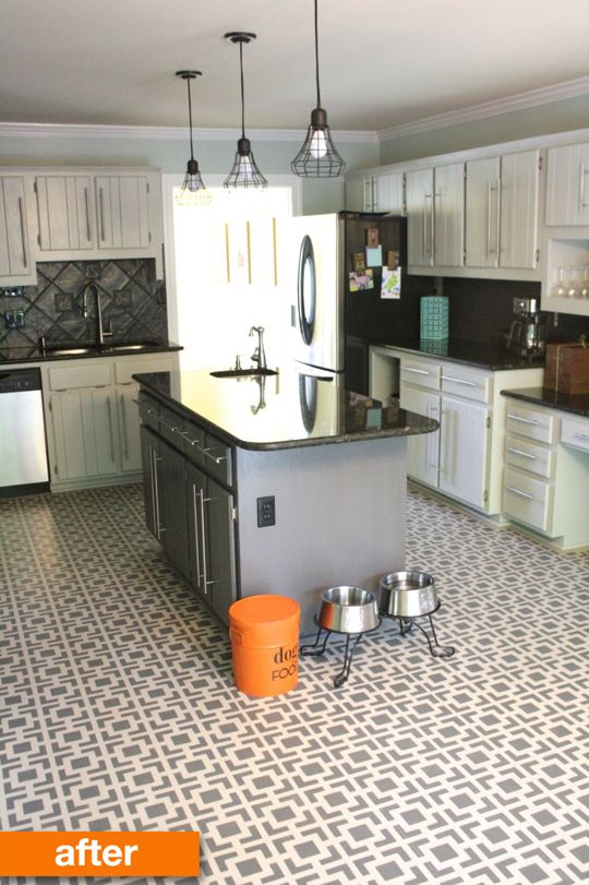Before & After: A Kitchen Gets a Dramatic Transformation with Paint & Hardware Under $700