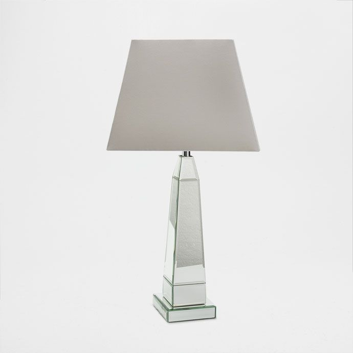 Lamp with a mirror-effect base - LAMPS - DECORATION | Zara Home Sverige / Sweden