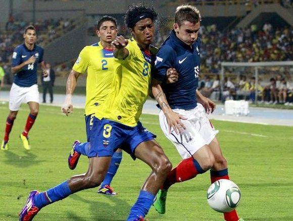Na Quarta-feira, 25 de Junho de 2014 a seleção do Equador enfrenta a seleção de França em um dos Jogos da Copa do Mundo 2014 no Brasil. O jogo acontece no Maracanã, no Rio de Janeiro às 17h (horário de Brasília) #futebol