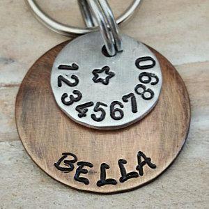Pet Accessories - Dog Tags - Pet ID - Cat Tag - Collar Tag - Pets - Pet Tag - Metal ID - Custom ID Tag - Personalized Pet Tag -
