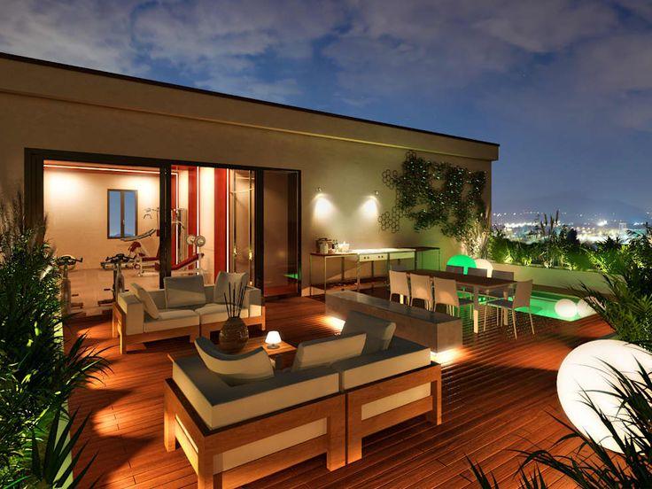 Foto di terrazza in stile terrace