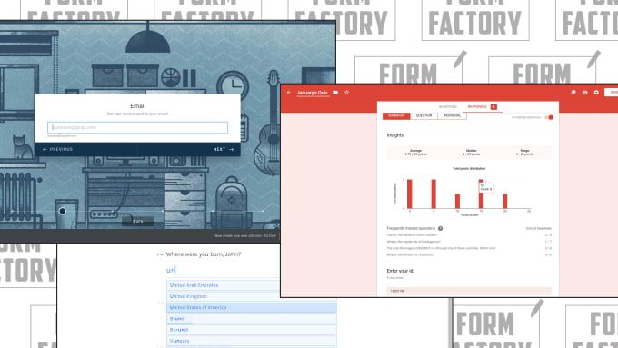 Create Fillable Online Forms With Jotform Google Forms Typeform And Cognito Google Forms Online Form Form