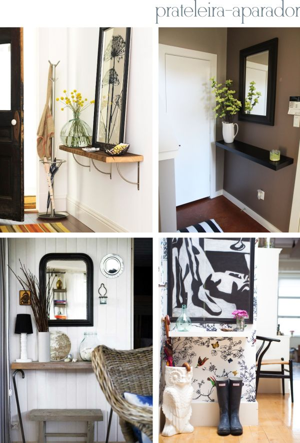 Entryway decor ideas Hall de entrada pequeno: como decorar? - Via The Blue Post