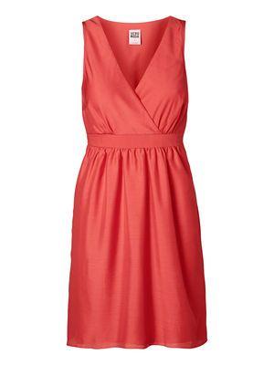 MEI TIRA SL SHORT DRESS NOOS SPICED CORA, Spiced Coral. Vero Moda 2014.
