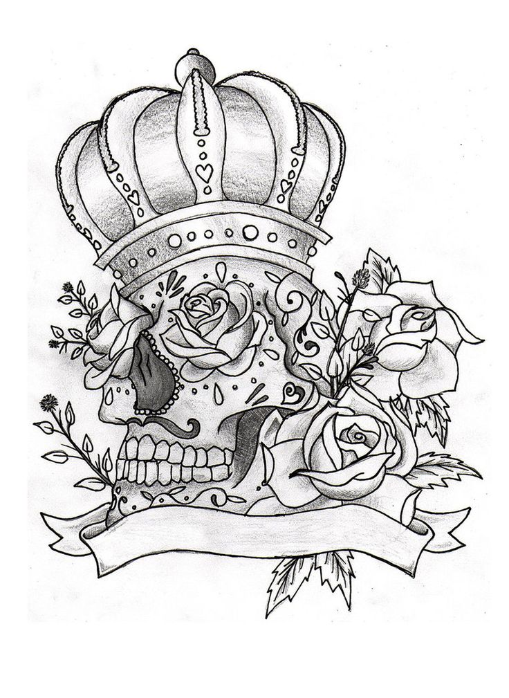 mexican sugar skull coloring pages - photo#31