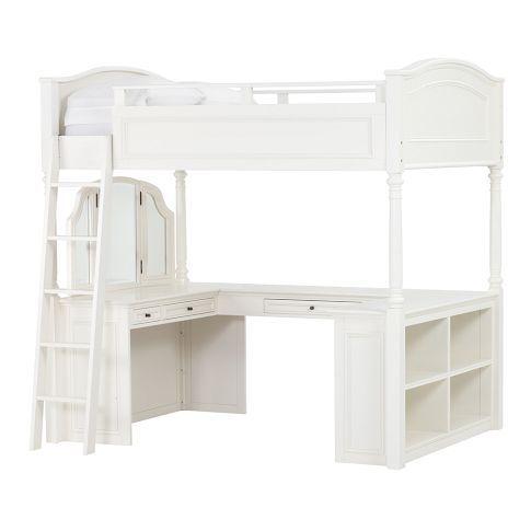 Riley's room: Beds Pbteen, Pb Teens, Dreams Beds, Vanities Loft, Chelsea Vanities, Teens Loft Beds, Bedrooms Stuff, Bedrooms Ideas, Girls Rooms