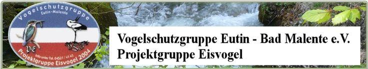 Das Banner der Vogelschutzgruppe Eutin Bad Malente e.V.