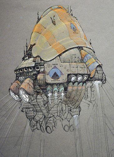 Moebius #comics #illustration #moebius