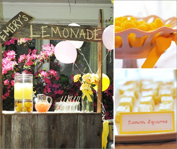 Lemonade stand: Lemonade Stands, Lemonade Parties, Birthday Theme, Birthday Parties, Sunshine Parties, 1St Birthday, First Birthday, Parties Ideas, Birthday Ideas