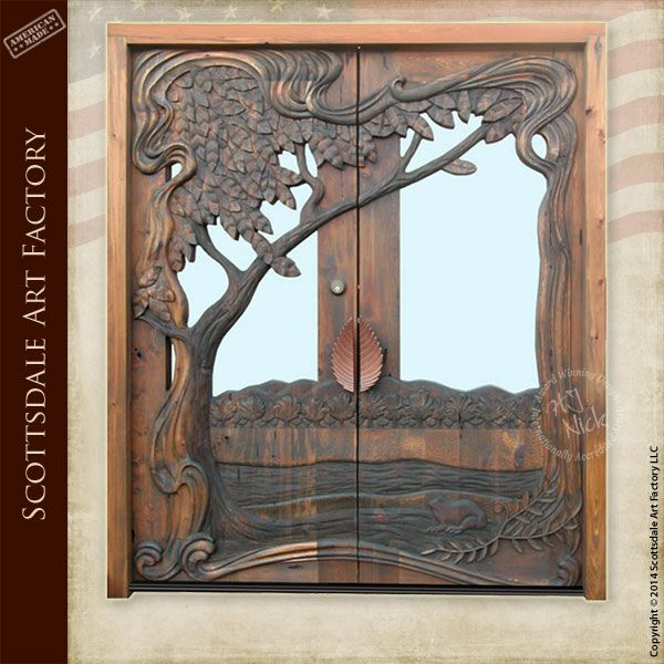Wooden Tree Gate Design: WoodWorking Projects & Plans