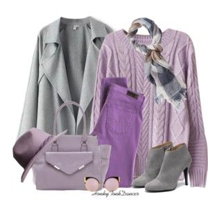 Lilac and Grey