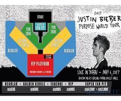 Jutin Bieber Show Regular Ticket for Sale in Dubai