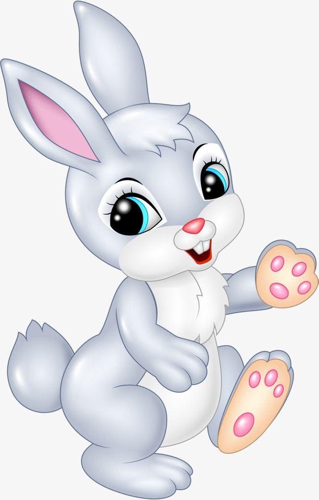 Gray Cartoon Bunny Cartoon Clipart Bunny Clipart Hare Png Transparent Clipart Image And Psd File For Free Download Rabbit Cartoon Cartoon Clip Art Cute Bunny Cartoon