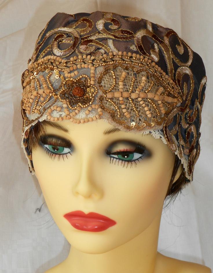 how to make a flapper turban