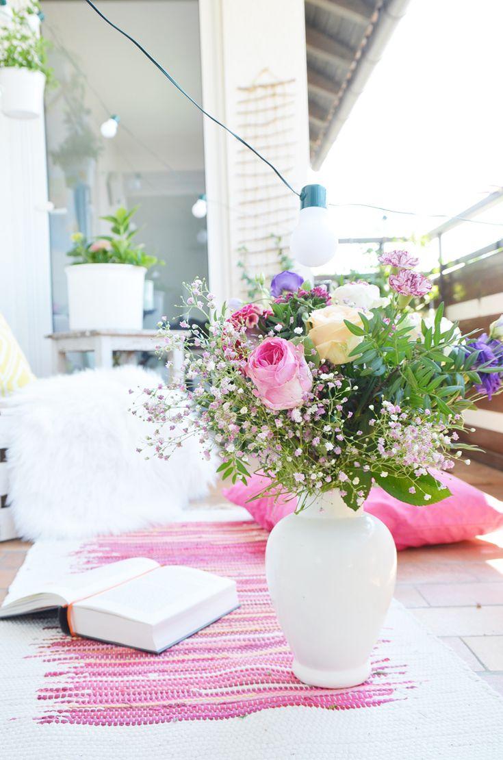 110 besten balkon bilder auf pinterest, Gartengerate ideen