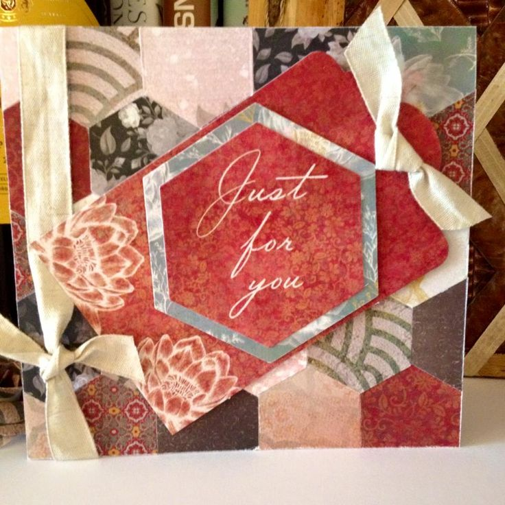 Designed by Nicky Gilburt for Craftwork Cards using Chinoiserie Collection
