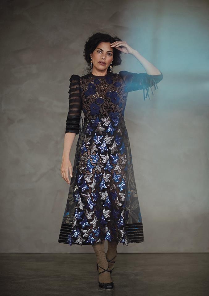 GREY X   Actress SARITA CHOUDHURY, photographed by GARANCE DORÉ and styled by VALENTINA ILARDI MARTIN.
