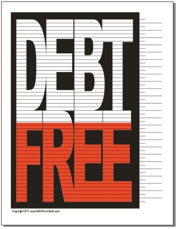 photograph relating to Free Printable Debt Free Charts identify Personal debt No cost Chart Credit card debt Cost-free Charts Financial debt absolutely free, Price savings
