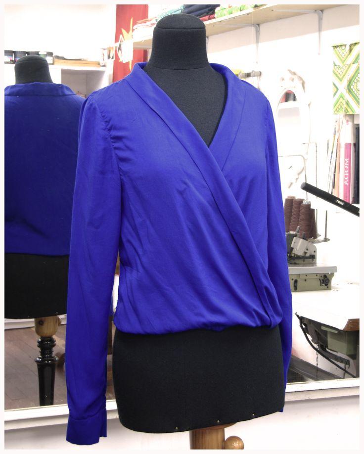 Blusa a medida Blouse www.ropadesastre.com