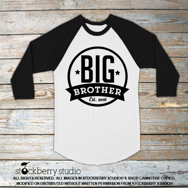Big Brother Shirt - Personalized Big Brother Shirt - Big Brother Shirt 3/4 Sleeve - Big Brother T Shirt - Big Brother Raglan Shirt Big Bro by stockberryapparel on Etsy https://www.etsy.com/listing/263500366/big-brother-shirt-personalized-big