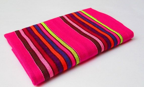 Mexican Fabric aztec fabric tribal fabric by by MexFabricSupplies