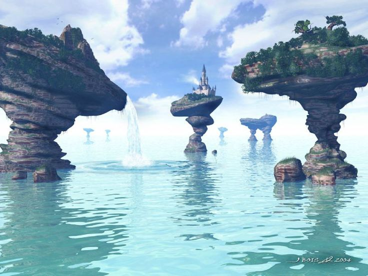 paysage fantastique | PAYSAGES FANTASTIQUE (12)