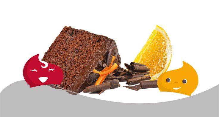 Oroscopo Dolce - La Torta Cioccolata e Arancia della Bilancia - Chiacchiere Dolci