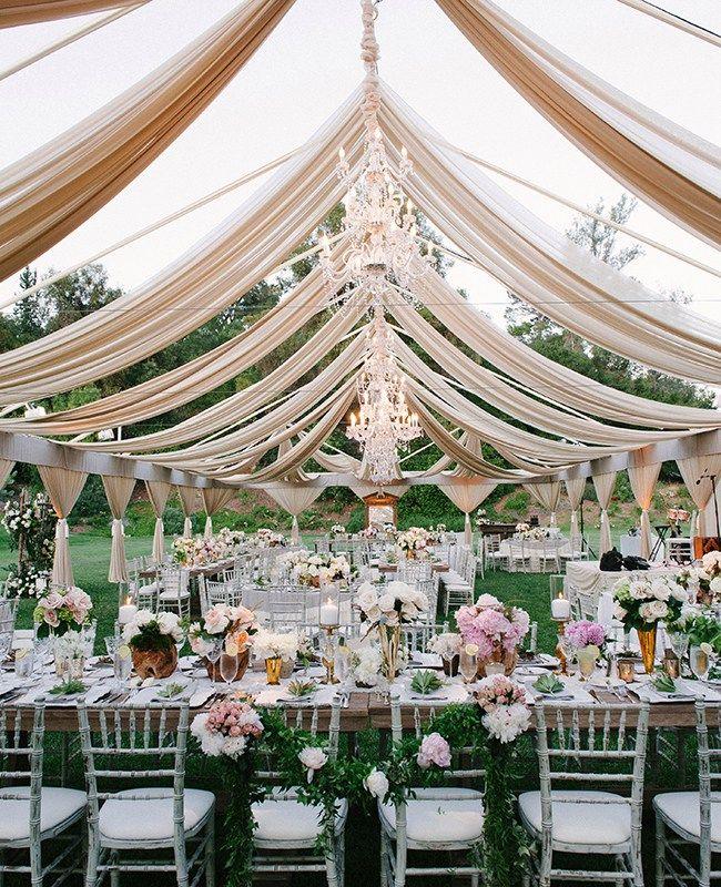 21 inspirações para sonhar com um casamento ao ar livre | Casar é um barato