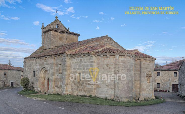 Villaute, Burgos. Iglesia de San Martín #románico