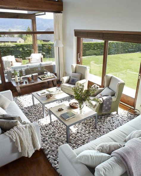 Best 25 casas de campo modernas ideas on pinterest - Decoracion rustica de interiores ...