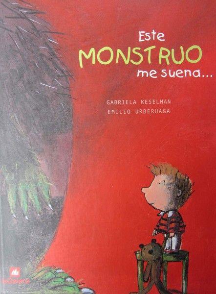 Simpático cuento, magníficamente ilustrado por el dibujante del conocido personaje de Manolito Gafotas, en el que un niño se enfrenta a un monstruo sin miedo alguno porque ya le conoce. El monstruo parece que se lo quiere merendar, pero resulta al final que es su propio padre, que al terminar de bañar a Eugenio se lo quiere comer, pero a besos.