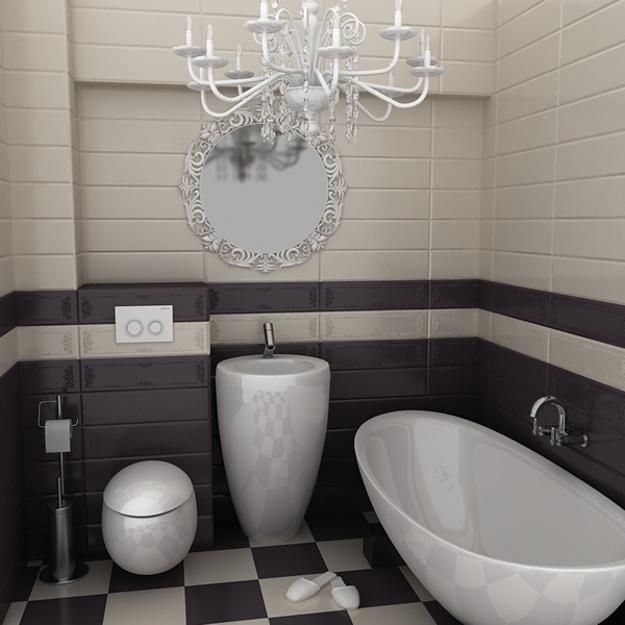 Small bathroom design trends and ideas for modern bathroom for Small toilet and bath design